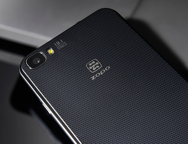 Zopo C2 5-inch Aliyun Smartphone back