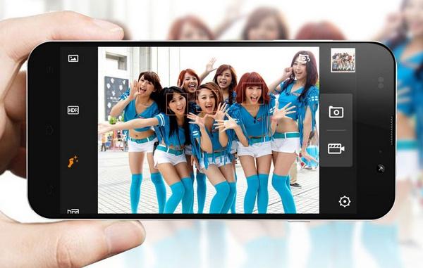 Zopo C2 5-inch Aliyun Smartphone camera