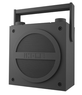 iHome iBT4 Bluetooth Wireless Rechargeable Boombox with FM Radio