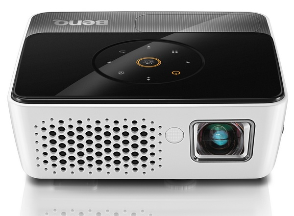 BenQ Joybee GP3 Mini Projector with iPhone Dock front