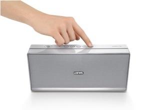 Loewe Speaker 2go Bluetooth Speaker with NFC hand