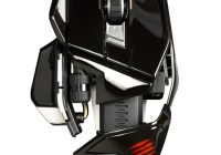 Mad Catz M.O.U.S.9 Wireless Mouse gloss black