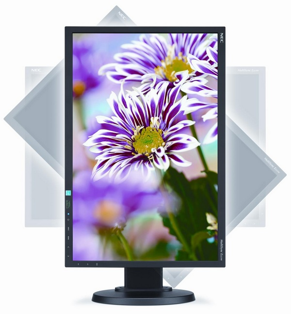 NEC MultiSync E223W Budget Business Monitor swivel
