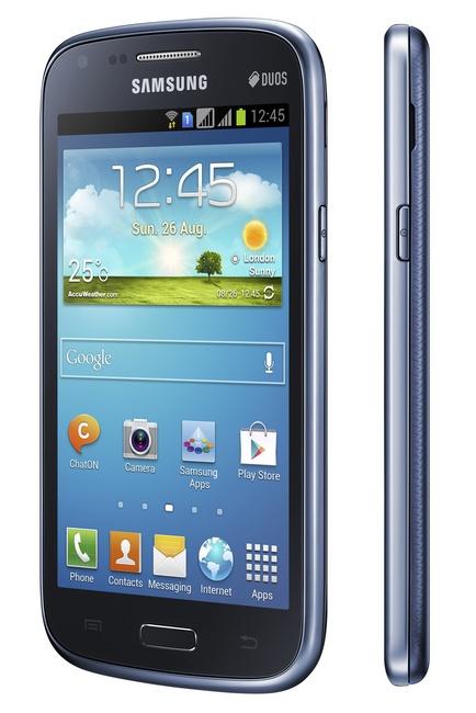 Samsung Galaxy Core Dual SIM Smartphone angle