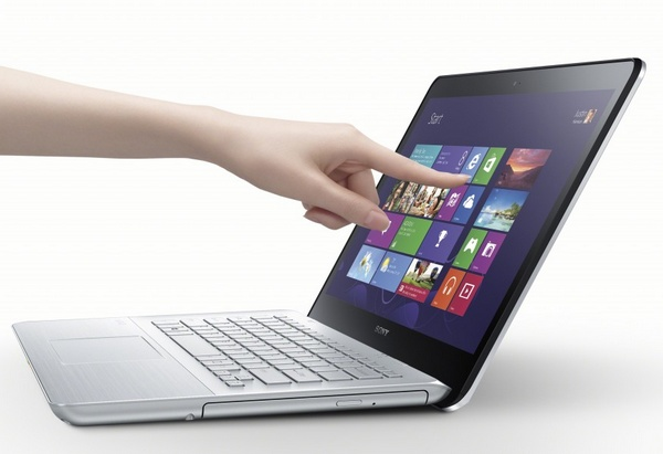 Sony VAIO Fit notebook touch
