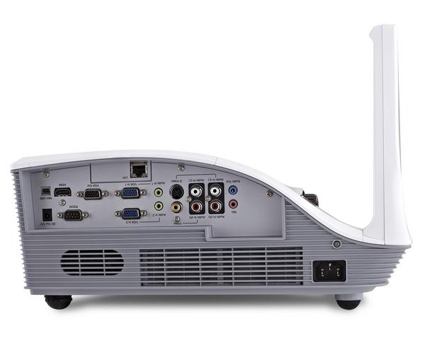ViewSonic PJD8653ws and PJD8353s Projectors inputs