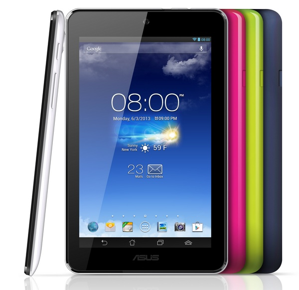 Asus MeMO Pad HD 7 colors