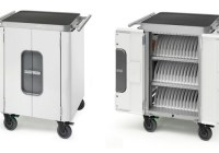 Bretford Mobility Cart 42 can charges 32 iPads at the same time