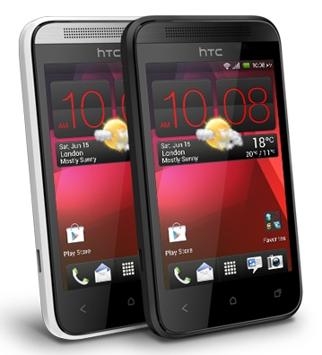 HTC Desire 200 Entry-level Smartphone colors