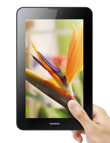 Huawei MediaPad 7 Vogue 7-inch Tablet on hand