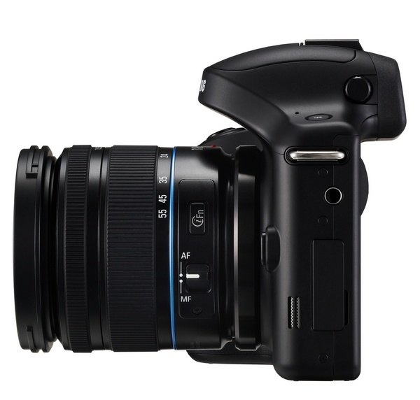 Samsung Galaxy NX Mirrorless Camera side