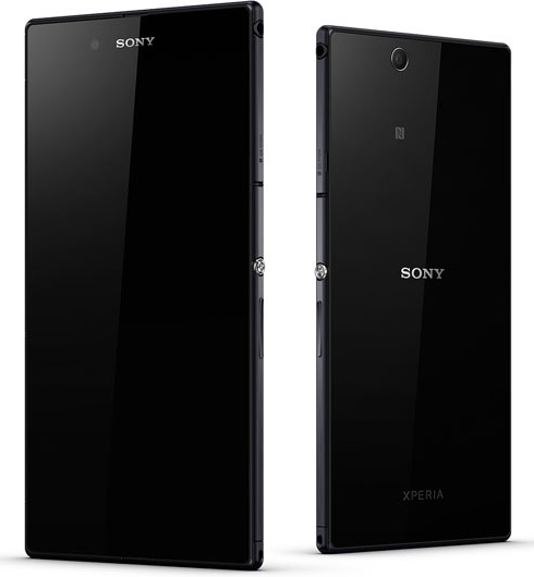Sony Xperia Z Ultra 6.4-inch Full HD phablet front back