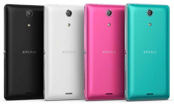 Sony Xperia ZR does Full HD Video Recording Underwater back