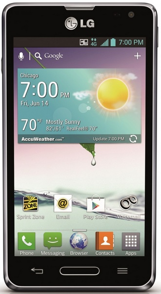 Sprint LG Optimus F3 Smartphone for Vision and Hearing-impaired