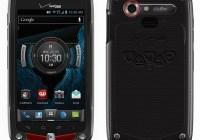 Verizon Casio G'zOne Commando 4G LTE Rugged Smartphone back