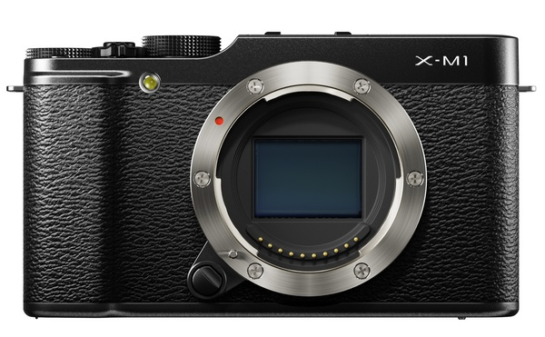 FujiFilm X-M1 Lightweight Mirrorless Camera no lens