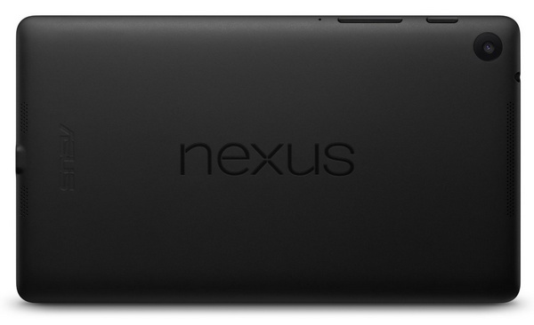 Google Nexus 7 2nd generation back