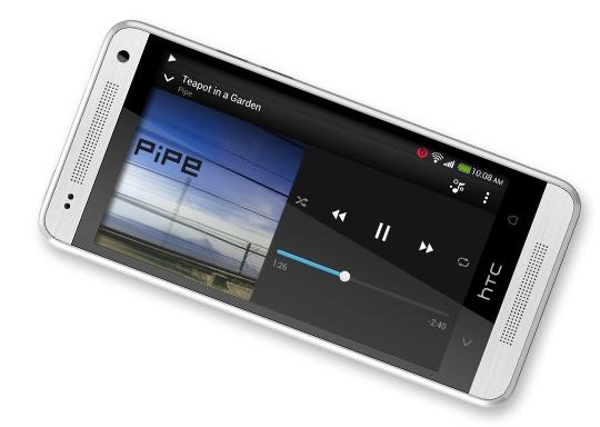 HTC One mini landscape