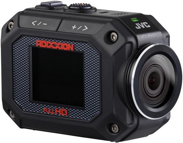 JVC ADIXXION GC-XA2 Quad-proof Action Camera angle
