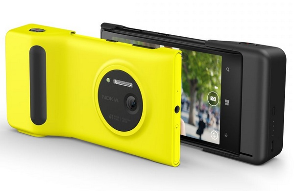 Nokia Lumia 1020 Smartphone with grip