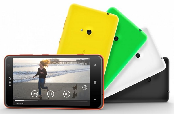 Nokia Lumia 625 Affordable LTE WP8 Smartphone 1