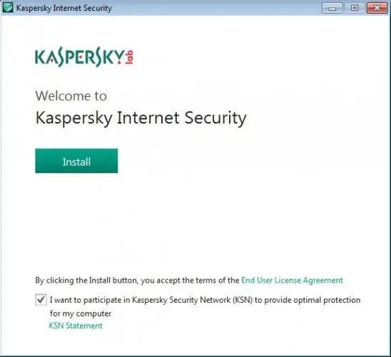 Kaspersky-Internet-Security-installation