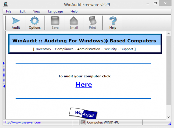 2014 01 19 22 33 08 WinAudit Freeware v2.29 570x420 - 6 Tools To Check Every Hardware Detail Of Your Computer