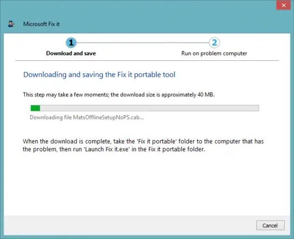 Downloading fixit tools
