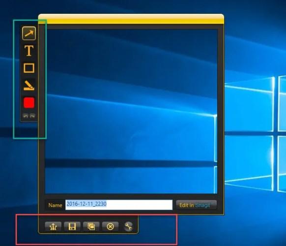 6 8 582x500 - Best Free SnagIt Alternatives And Similar Screen Capturing Tools
