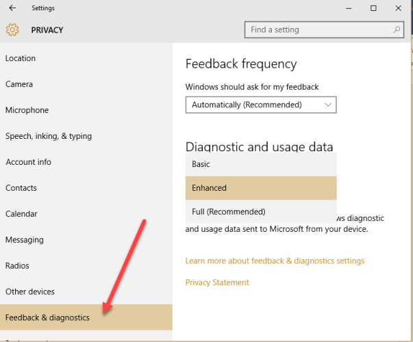 1 33 603x500 - How to Disable Telemetry and Data Collection in Windows 10