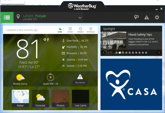 4 13 670x458 - 6 Best Weather Forecast Apps for Windows 10