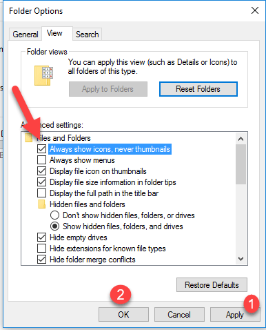 """2 15 - 4 Ways to Fix """"File Explorer has Stopped Working"""" Error in Windows 10"""