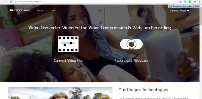 ClipChamp Online Video Editor