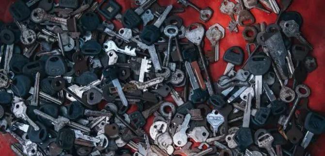 So many admin access keys