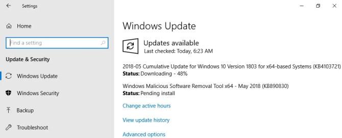 Download KB4103721 Cumulative Update For Windows 10 Version 1803 May