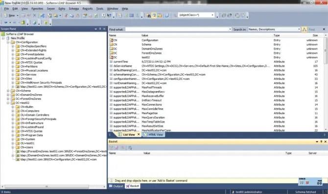 Softerra LDAP Browser