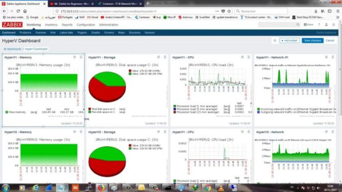 Zabbix Monitoring Interface