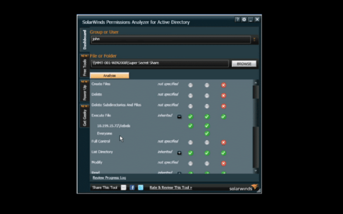permissions analyzer