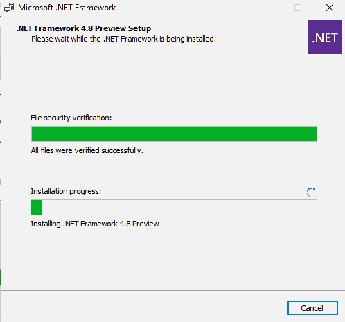 net framework 4 8 installer