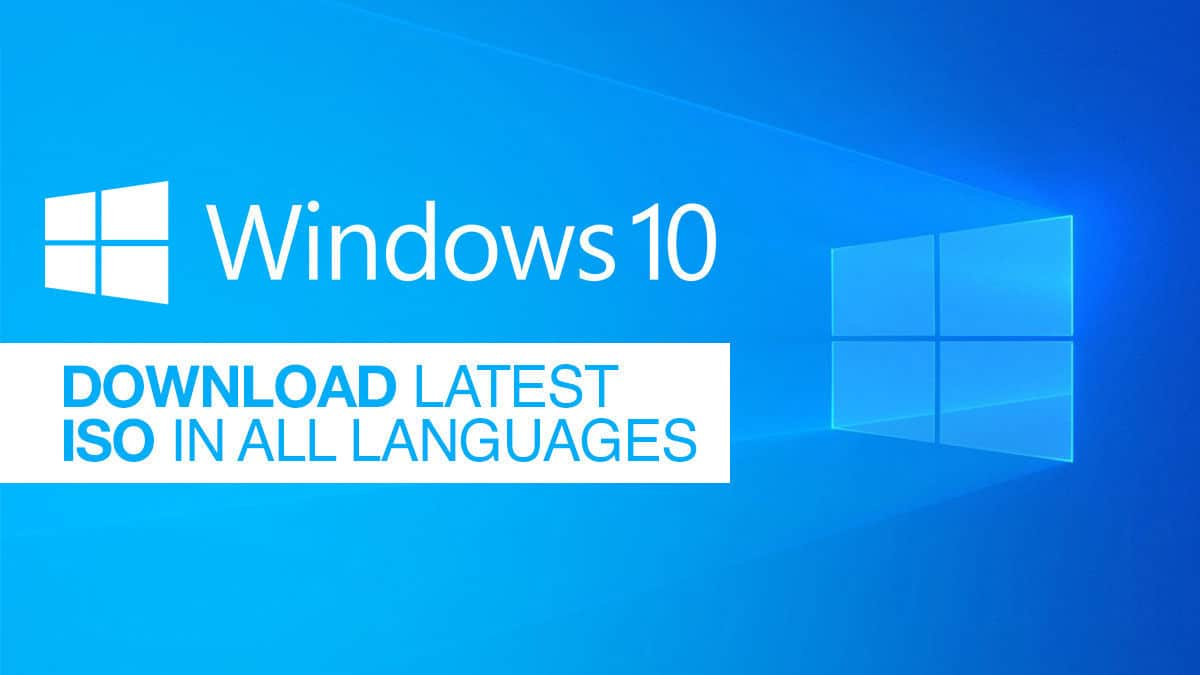 Download Latest Windows 10 Iso In All Languages Camrojud