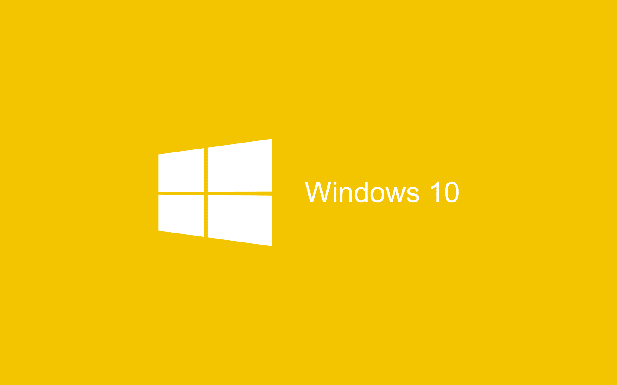 Yellow Wallpaper Windows 10 HD 2880x1800