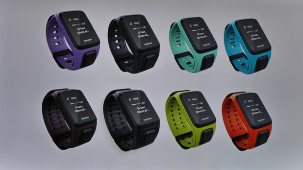 Spark fitness tracker from TomTom focus on Music