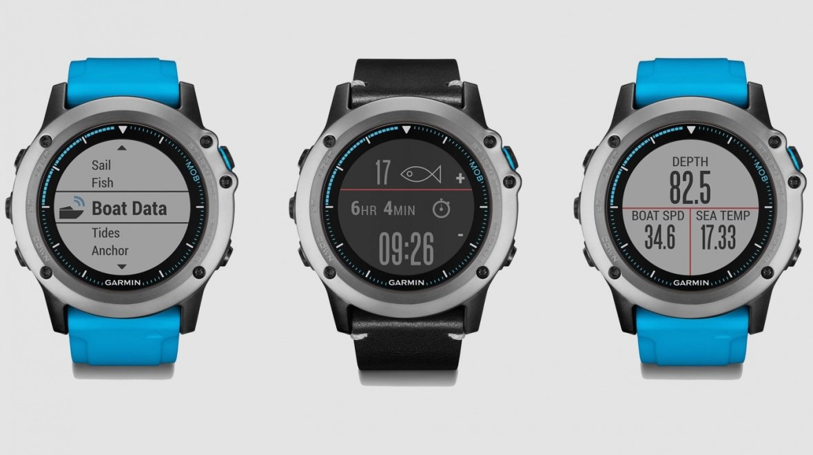 Garmin Quatix 3 is your aquatic smartwatch!