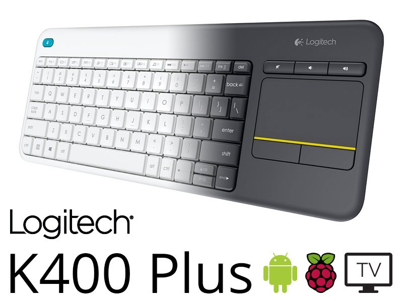 Logitech K400 Plus keyboard Review