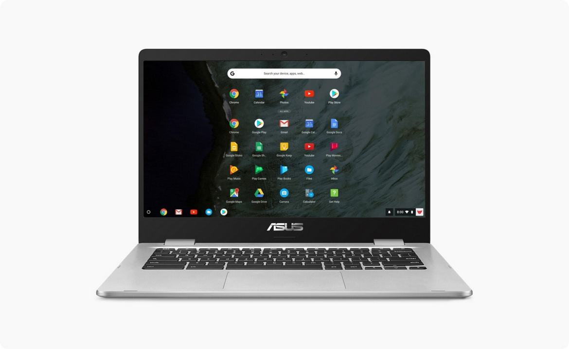 ASUS Chromebook 14 C423NA Chrome OS