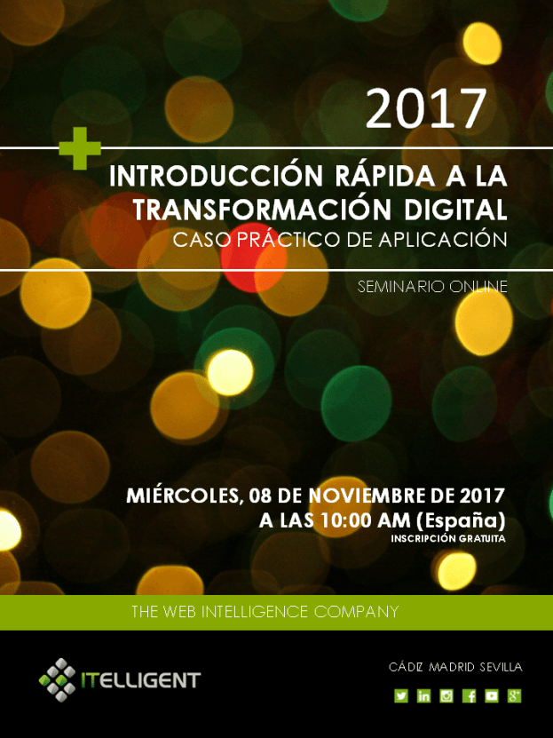 webinar_Introduccion Rápida a la Transformación Digital_ITELLIGENT