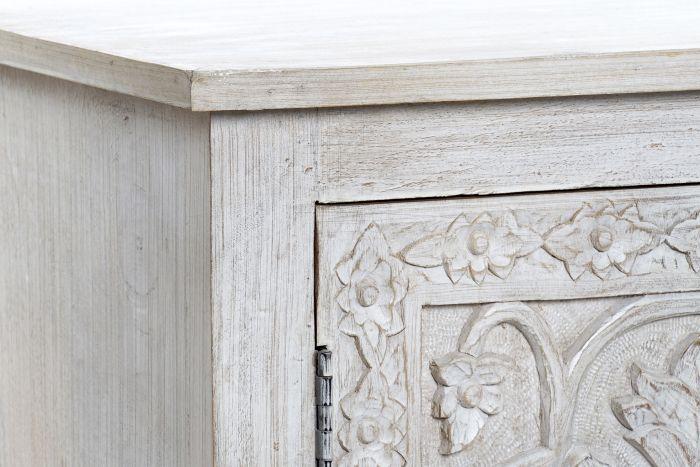meuble tv mangue bois 151x40x60 vieilli