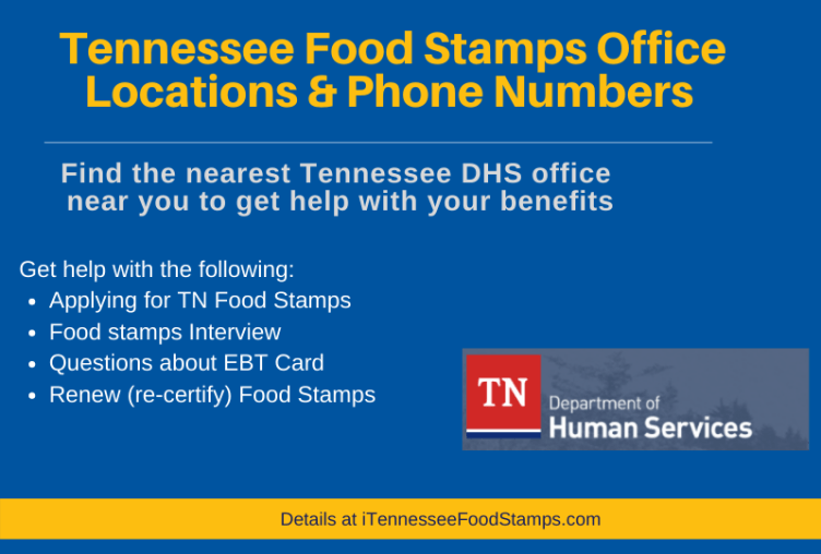 """""""Tennessee Food Stamps Office"""""""