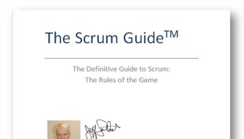 Scrum Guide- rules of the game