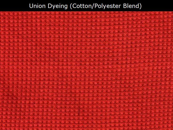 ITextiles Terminology Union Dyeing